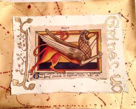 Griffin_C12th bestiary